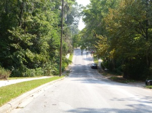 Northwest 14th Avenue hill - Gainesville, FL
